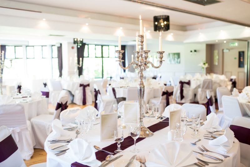 Wedding Settings at the Westport Woods Hotel
