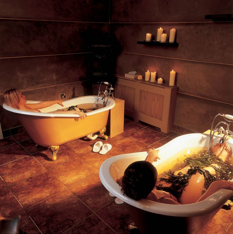 Seaweed Bath Spa Treatments at the Yeats Country Hotel Rosses Point co. Sligo