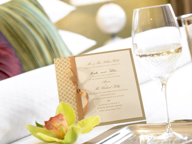 Weddings at the Dublin Skylon Hotel