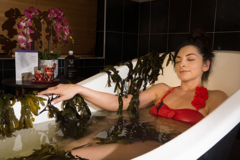 Seaweed Bath Spa Therapy at the Holyrood Hotel & Spa in Bundoran
