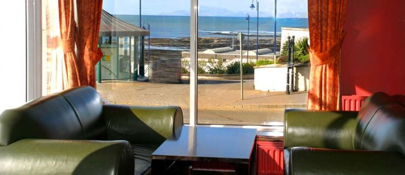 View from the Holyrood Hotel Bundoran beach